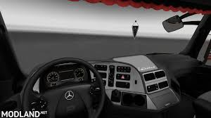 renault trafic 2016 interior mercedes benz actros mp3 interior exterior rework ver 1 1 mod for