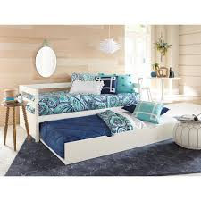 hillsdale furniture caspian white twin daybed with trundle 2179