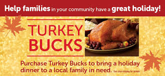 shaws help us help families in your community with turkey bucks