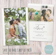 wedding save the date card aw017 paper lark designs