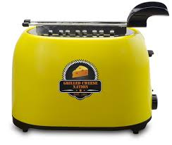 Fiesta Toaster Amazon Com Smart Planet Gcn 1st Grilled Cheese Toaster With Grill