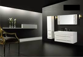 Contemporary Bathroom Designs by Bathroom Luxury Pionite Laminate With Floating Bathroom Vanity
