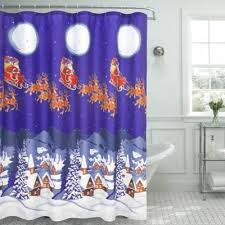 Santa Curtains Buy Christmas Curtains From Bed Bath U0026 Beyond