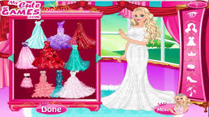 barbie wedding dress up game 50 wedding gowns for barbie youtube