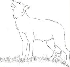 coloring page of wolf easy howling wolf coloring pages animal coloring pages of