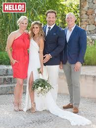 hello wedding dress exclusive zoe hardman and paul doran jones in ibiza ceremony