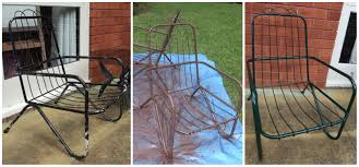 Wire Patio Chairs by Refurbishing Vintage Patio Chairs