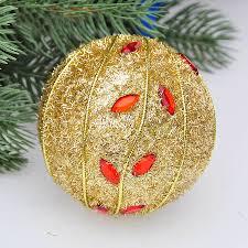 christmas tree accessories ornaments 8cm golden stick decorative