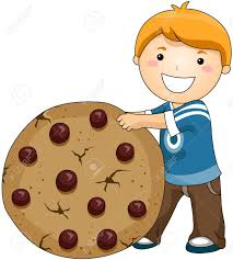 biscuit clipart baking cookie pencil and in color biscuit