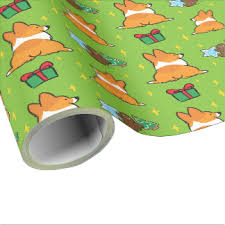 where the things are wrapping paper corgi wrapping paper zazzle