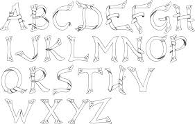 tattoo lettering fonts are type of tattoos that use a variety of