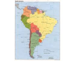 south america map bolivia maps of south america and south american countries political