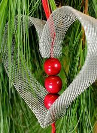Plant Used As A Christmas Decoration Ashbee Design Diy Christmas Ornament 5 U2022 Heart
