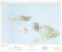 Maui Hawaii Map Hawaii Topographic Maps Perry Castañeda Map Collection Ut