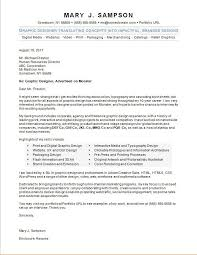 graphic designer cover letter sle