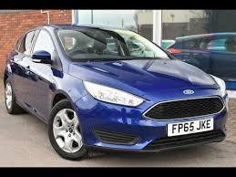 used ford focus tdci used ford focus 1 5 tdci 95 style 5dr impact blue 2015