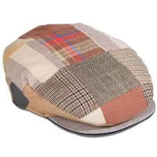 Patchwork Cap - the linen patchwork cap hammacher schlemmer