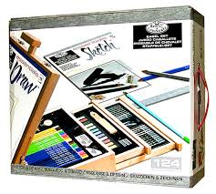 sketch and draw easel artist set national artcraft