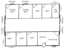 10 Stall Horse Barn Plans Barn Floor Plans U2013 Barn Plans Vip