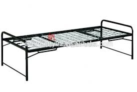 single military stackable metal bed frame single military