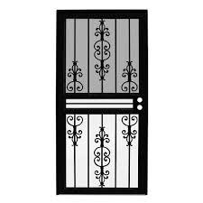 Front Door Security Gate by Security Doors Exterior Doors The Home Depot