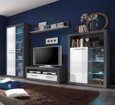 Wohnzimmerschrank Hardeck Nauhuri Com Wohnwände Holz Mit Weiß Neuesten Design