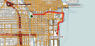 grant park chicago map chicago riverwalk to grant park illinois maps photos reviews