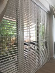wood venetian blinds with existing curtains pure white blinds