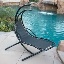 Outdoor Dream Chair Hanging Helicopter Dream Lounger Chair Arc Stand Swing Hammock