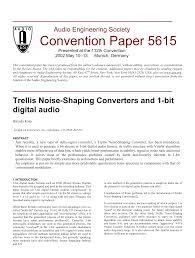 trellis quantization aes e library trellis noise shaping converters and 1 bit digital