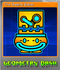 image geometry dash foil 2 png steam trading cards wiki