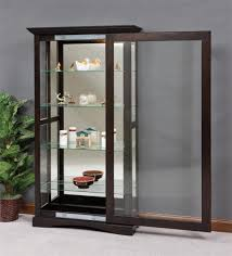 Curio Cabinets With Glass Doors Mission Sliding Door Curio Cabinet Beautiful Craftsman And Curio