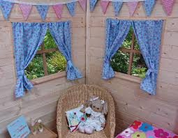 Playhouse Curtains Playhouse Curtains Blue Rose U0026 Butterflies3291613977903 With