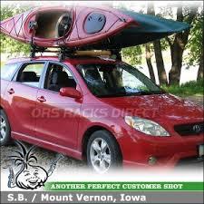 2010 toyota corolla roof rack 2005 toyota matrix kayak carrier system car rack advice