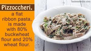cuisine types types of pasta