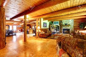 home decor log cabin living rooms room rustic designing tips with