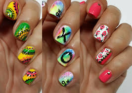 3 easy nail art designs for short nails freehand 4 youtube