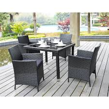 Costco Patio Furniture Dining Sets Outdoor Bayside 7 Dining Set Costco Patio Furniture Lowes