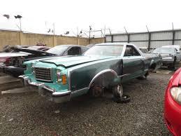 ranchero car 1979 ford ranchero junkyard find