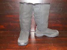 ugg womens julietta boots black sheepskin knee high boots for ebay