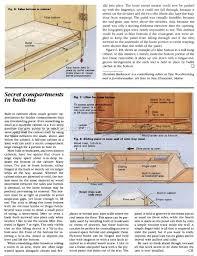 furniture secret compartments u2022 woodarchivist