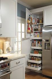 small kitchen interior the 24 pantry supercabinet with so much storage packed into a