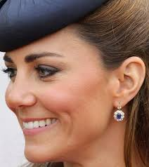 kate middleton diamond earrings sapphire and diamond earrings kate middleton s jewelry