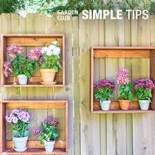 Home Depot Flower Projects - garden club projects garden club