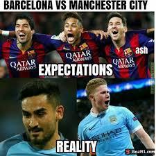 Barca Memes - ft manchester city 3 1 barcelona soccer memes goal91