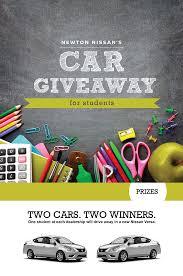 nissan finance new portal car giveaway