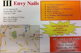 envy nails nail salons 511 e genesee st fayetteville ny
