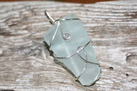 How To Make Jewelry From Sea Glass - tears of a mermaid