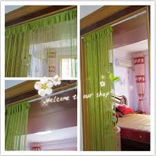 Green Curtain Pole Extendable Curtain Bar Decorate The House With Beautiful Curtains