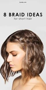 10 amazing braids for short hair short hair shorts and girls